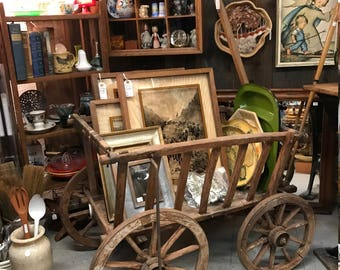 Antique Goat Milk Cart - Holland, late 1800s, early 1900s