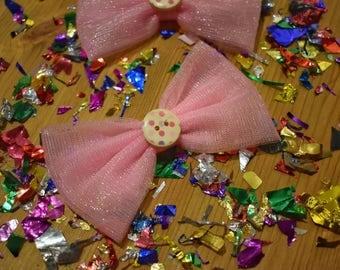 Bow Cat ' PinkyDots '
