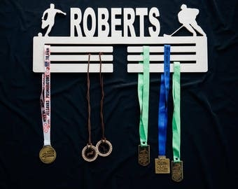 Personalized medal holder