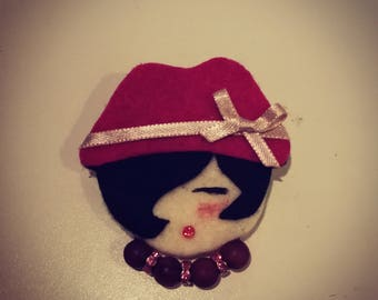 Dolls Brooches