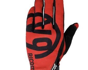 Gloves V9 red