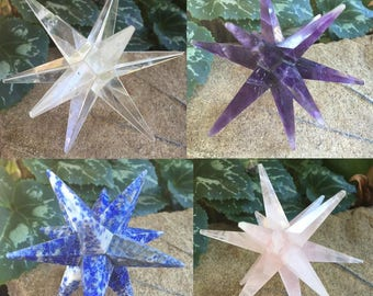 12 Pointed healing stars
