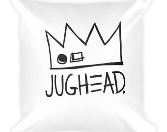 Jughead Jones Throw Pillow, Cute, Fun, Girly, Jughead, Veronica, Betty, Archie, Riverdale, House Decor, Home Decor, Couch Pillow, Bedroom
