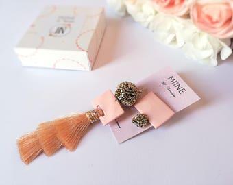 Tassel earrings, long earrings, tassel jewelry, earrings handmade, gift for sister, beauty gift, womens gift, fashion earrings, fringe