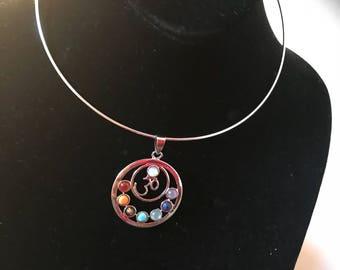 Chakra Choker Necklace