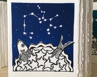 StarGazey Skies - Sagittarius Zodiac Birthday Card (November 22-December 21)