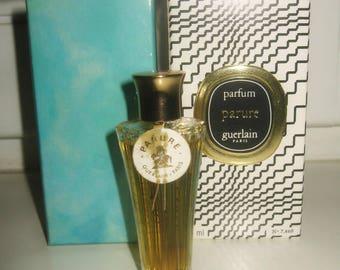 Parure Guerlain 7.5 ml vintage perfume bottle umbrella inbox