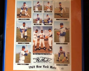 1969 Mets Worl Series Champs! Won 100 lost 62!