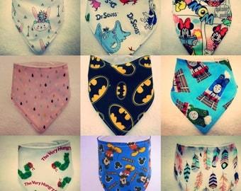 New handmade baby bibs