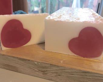 Valentine's Soap Bar