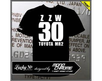 T-shirt Toyota MR2 ZZW30 1ZZ-FE