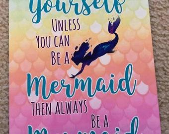 Mermaid photo print 8x10