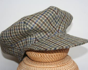 Newsboy Cap - Checked