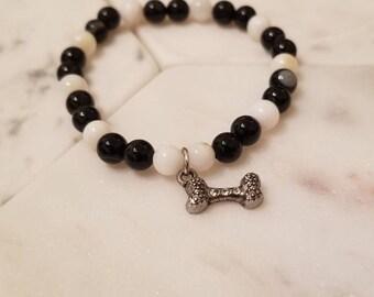 """The """"Man's Best Friend"""" bracelet"""