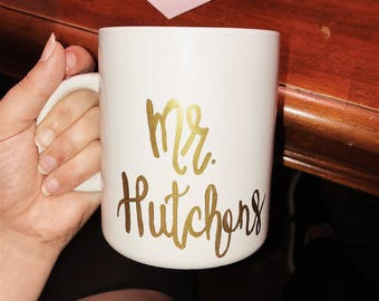 Custom Hand Painted Mug