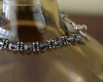 Violet Crystal Bracelet