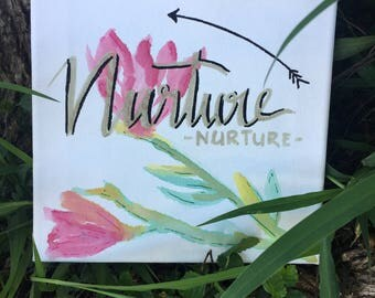 Nurture Painting Canvas