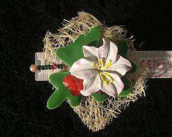 Spassring, sculpture, Green Leaf