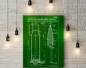 Printable Art - Mosin Nagant 7 62x54r Rifle Cartridge Patent Print, printable, printable wall art, printable military party, printables
