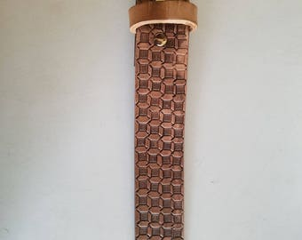Child's Leather belt - handmade