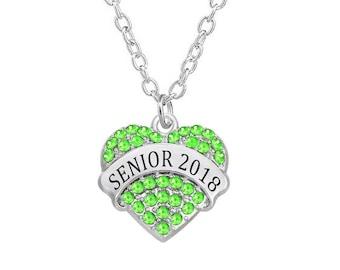 Class necklace 2018 graduation gift