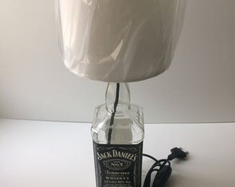 Table Lamp Bottle Recycling Jack Daniel's 1 lt