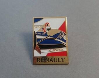 Formula 1 RENAULT - Cannon - elf badges