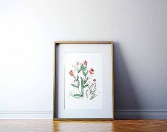 Floral - Watercolor