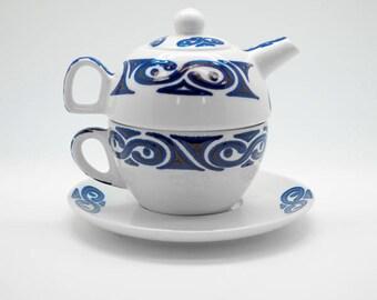 luxury ceramic teapot