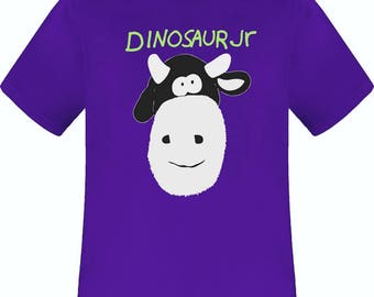 Dinosaur Jr. Cow purple t shirt