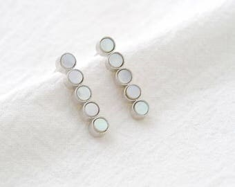 shell drop earring