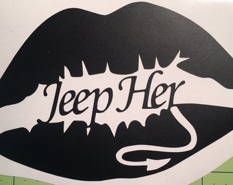 Jeep Her Decal