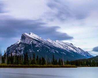 Mt Rundle - Alberta, Canada