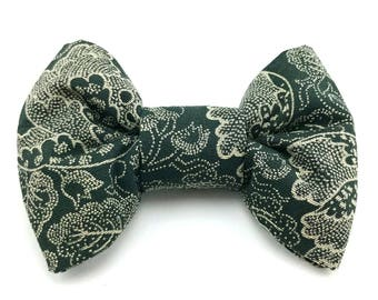 Vintage peony - Pet bow tie