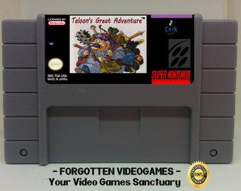 Taloon's Great Adventure - SNES Super Nintendo