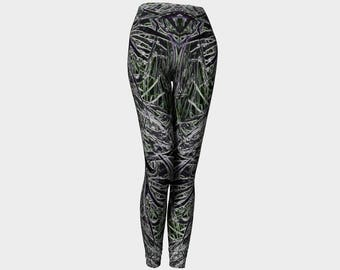 Multiple Colors - Dancing Grass Women's Fashion Leggings, Style 2