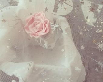Baroque rose ring