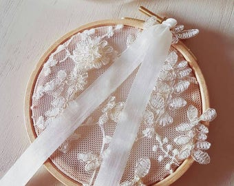 """Ring pillow lace """"Mathilde"""""""