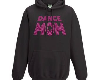 Custom Glitter hoodie, Tap, Jazz, Ballet, Hip Hop, Dance Mom Hooded/Crew Neck Hoodie / Hooded Sweatshirt