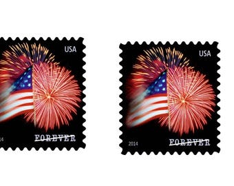 2 USPS Forever Stamps, Star-Spangled Banner, Roll of 100 x 2
