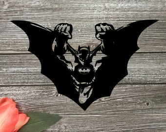 Batman Decal - Yeti Decal - Cup Decal - DC Comic Decal - Car Decal - Super Hero Decal - Batman