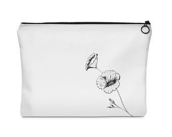 Pouch With Poppy Design
