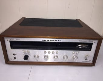 Marantz 2230 Audiophile Stereophonic AM FM Stereo Receiver w Woodgrain Body in Wood Case Cabinet