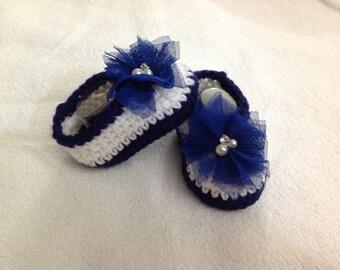 Baby Girls Shoes, Crochet, Newborn Shoes, Newborn boots, Baby Shoes, Baby boots, Baby Shower Gift, Size 0-3 Months