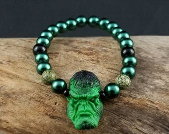 Custom Incredible Hulk Bracelet