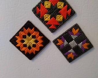 Mini Quilt Magnets