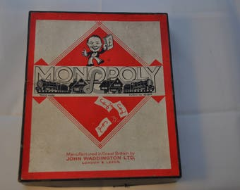 Vintage Monopoly Retro Game
