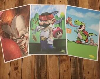 MEGA print pack 1
