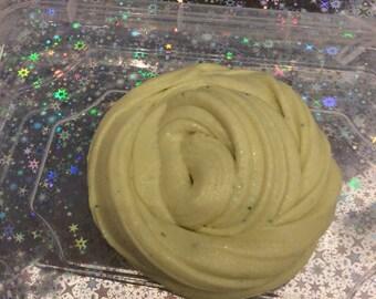 Toffee-banana muffin