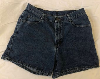 Vintage Riders High Waisted Mom Shorts